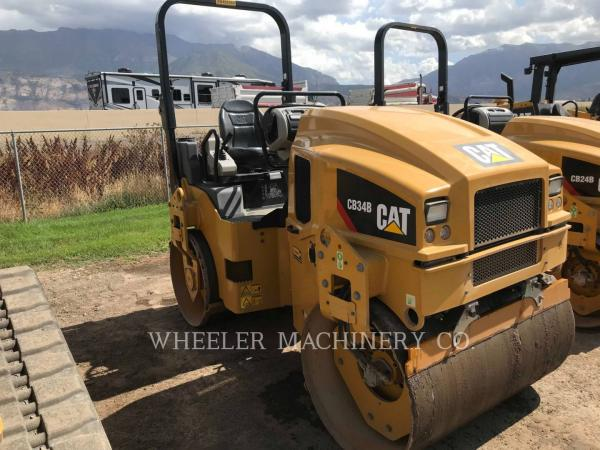 Detail photo of 2018 Caterpillar CB34B from Construction Equipment Guide
