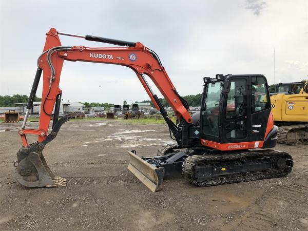Detail photo of 2017 Kubota KX080-4 from Construction Equipment Guide