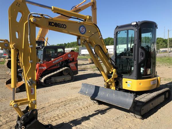 Detail photo of 2018 Kobelco SK35SR-6E from Construction Equipment Guide