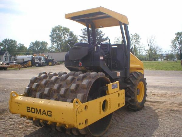 Detail photo of 2007 Bomag BW 177 PDH-4 from Construction Equipment Guide