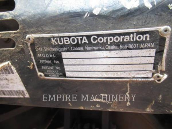 Detail photo of 2014 Kubota U25 from Construction Equipment Guide