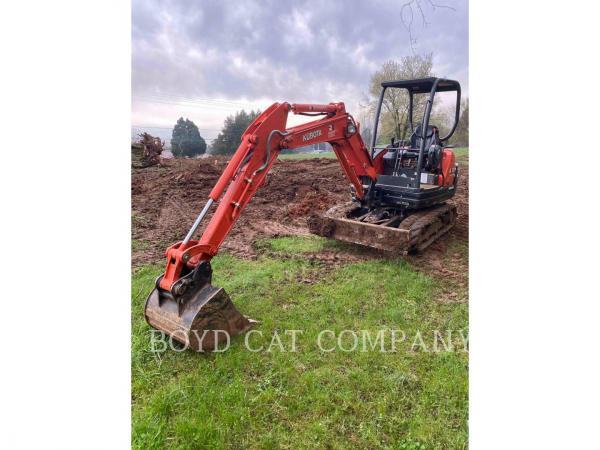 Detail photo of 2017 Kubota KX71-3 from Construction Equipment Guide