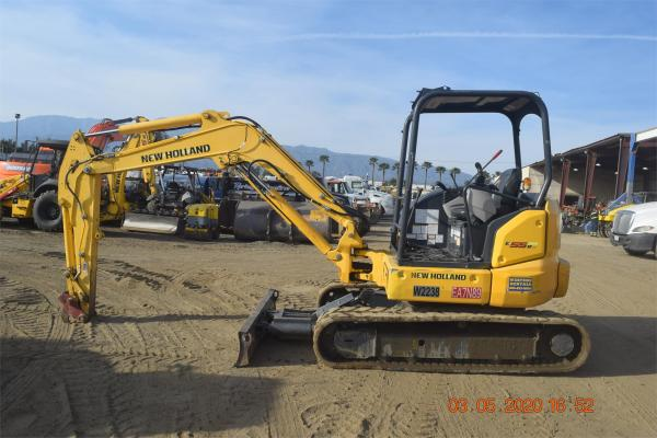 Detail photo of 2016 New Holland E55BX from Construction Equipment Guide
