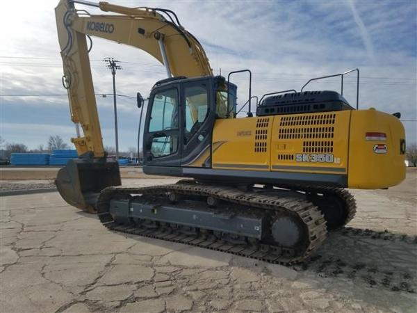 Detail photo of 2016 Kobelco SK350 LC-9E from Construction Equipment Guide