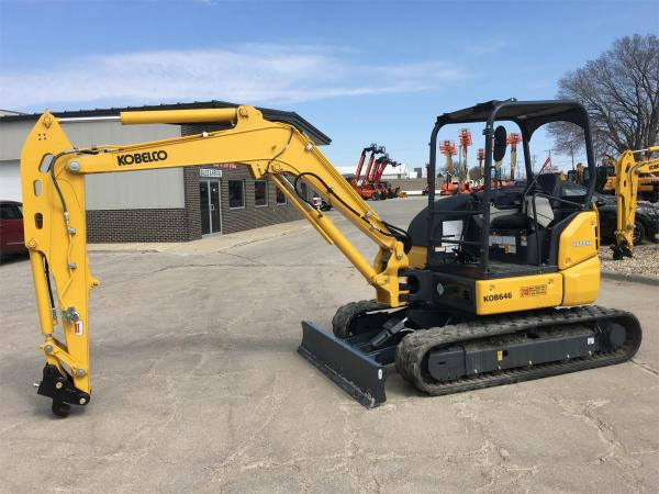 Detail photo of 2019 Kobelco SK55SRX from Construction Equipment Guide