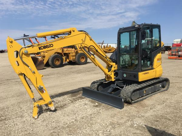 Detail photo of 2020 Kobelco SK55SRX-6E from Construction Equipment Guide