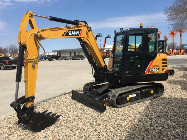Detail photo of 2019 Sany SY60C from Construction Equipment Guide