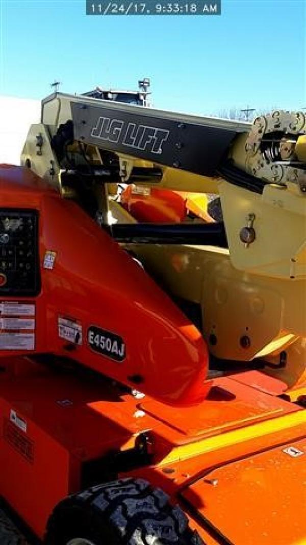 Detail photo of 2018 JLG E450AJ from Construction Equipment Guide