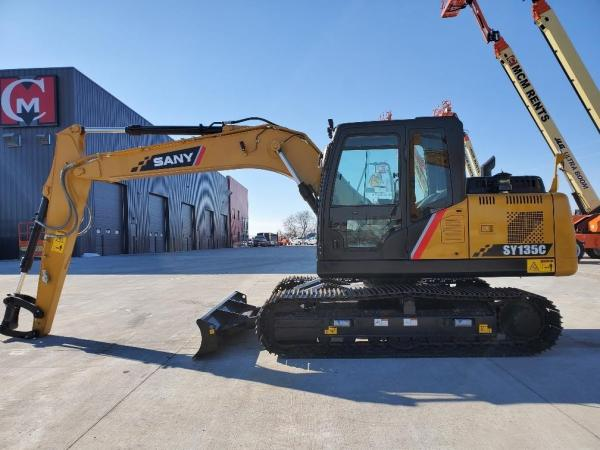 Detail photo of 2019 Sany SY135C from Construction Equipment Guide