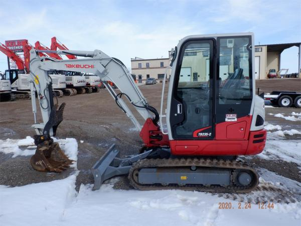 Detail photo of 2020 Takeuchi TB235-2 from Construction Equipment Guide