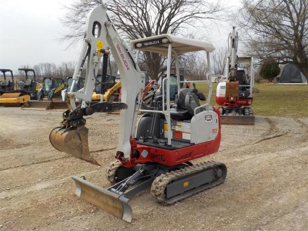 Detail photo of 2018 Takeuchi TB216 from Construction Equipment Guide