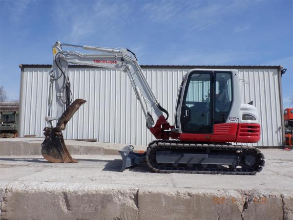 Detail photo of 2014 Takeuchi TB285 from Construction Equipment Guide