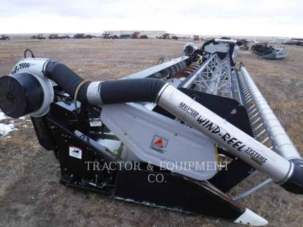 Detail photo of  AGCO 8000 FLEX HEADER from Construction Equipment Guide