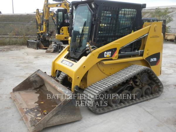 Detail photo of 2013 Caterpillar 247B3 from Construction Equipment Guide