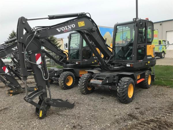 Detail photo of 2018 Volvo EW60E from Construction Equipment Guide