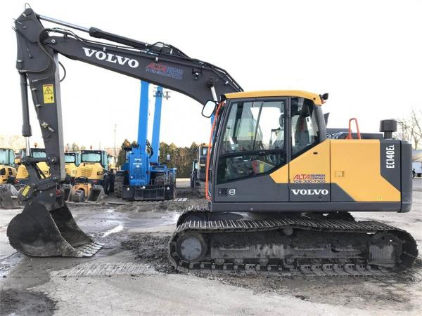 Detail photo of 2018 Volvo EC140 from Construction Equipment Guide