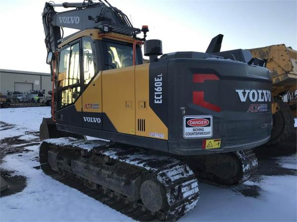 Detail photo of 2018 Volvo EC160EL from Construction Equipment Guide