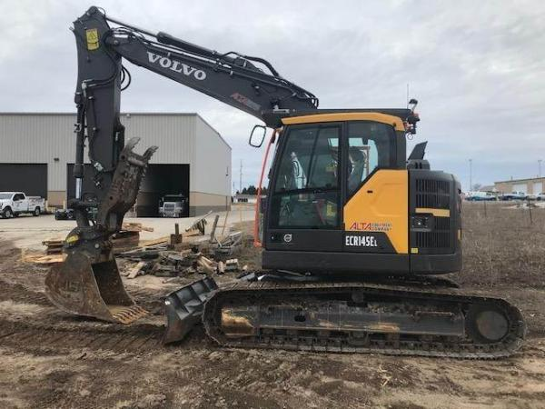 Detail photo of 2018 Volvo ECR145EL from Construction Equipment Guide