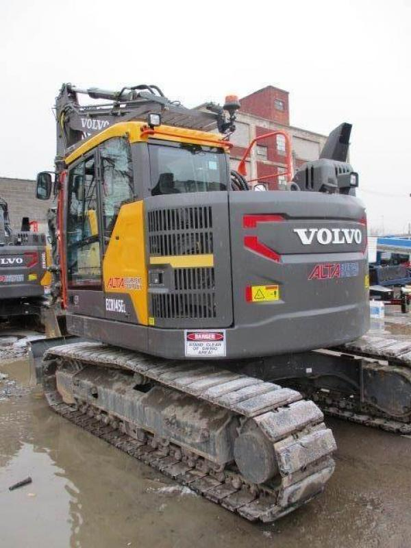 Detail photo of 2017 Volvo ECR145EL from Construction Equipment Guide