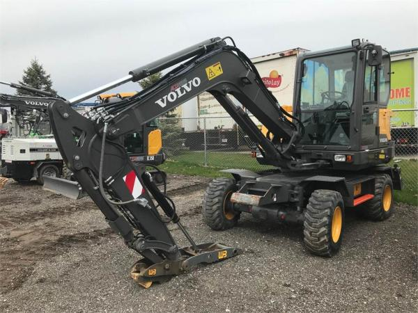 Detail photo of 2017 Volvo EW60E from Construction Equipment Guide