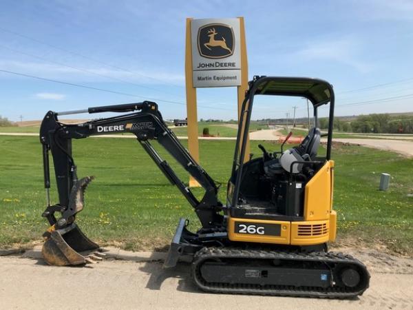 Detail photo of 2018 John Deere 26G from Construction Equipment Guide