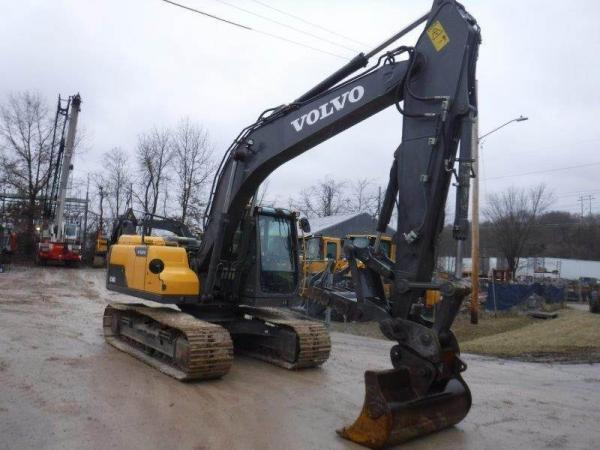 Detail photo of 2014 Volvo EC160D from Construction Equipment Guide