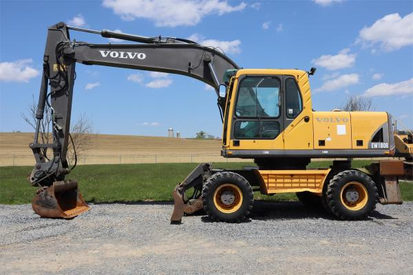 Detail photo of 2005 Volvo EW180B from Construction Equipment Guide