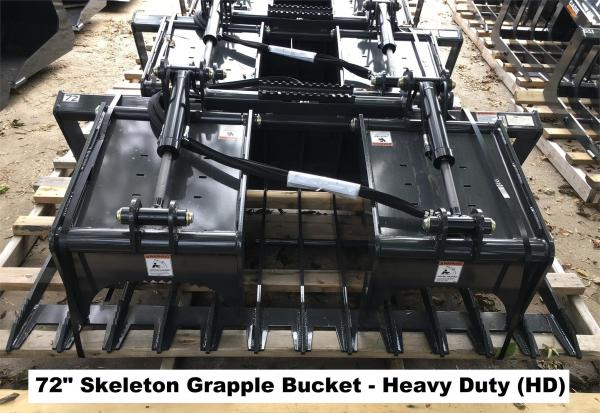 Detail photo of 2018 Case 72 IN. SKELETON GRAPPLE BUCKET (HD) from Construction Equipment Guide