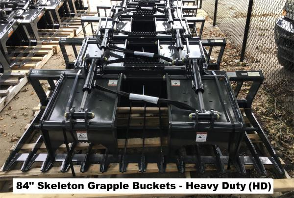 Detail photo of 2018 Case 84 IN. SKELETON GRAPPLE BUCKET (HD) from Construction Equipment Guide