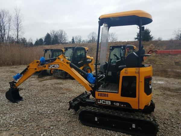 Detail photo of 2019 JCB 18Z-1 from Construction Equipment Guide
