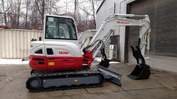 Detail photo of 2018 Takeuchi TB260 from Construction Equipment Guide