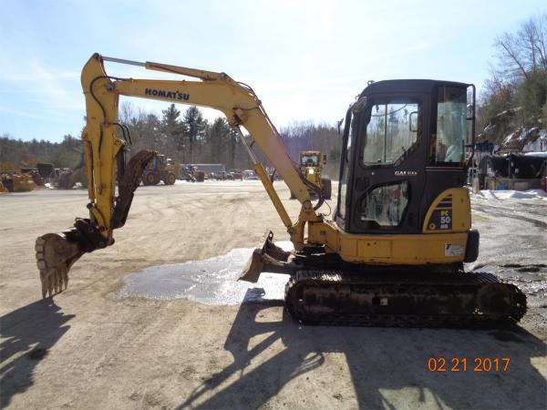 Detail photo of 2007 Komatsu PC50MR from Construction Equipment Guide