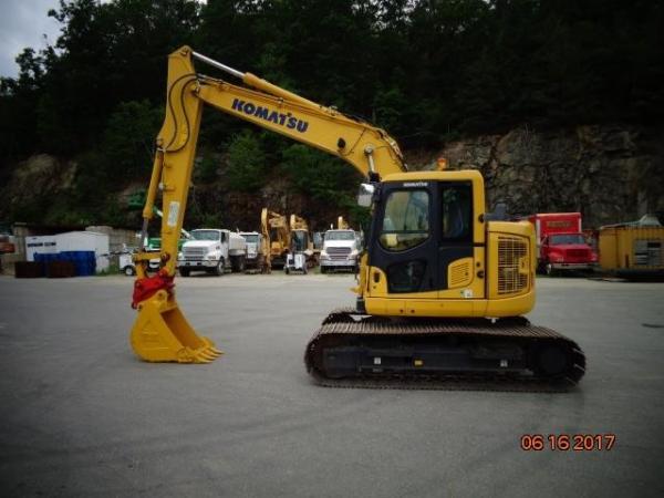Detail photo of 2016 Komatsu PC138USLC-11 from Construction Equipment Guide
