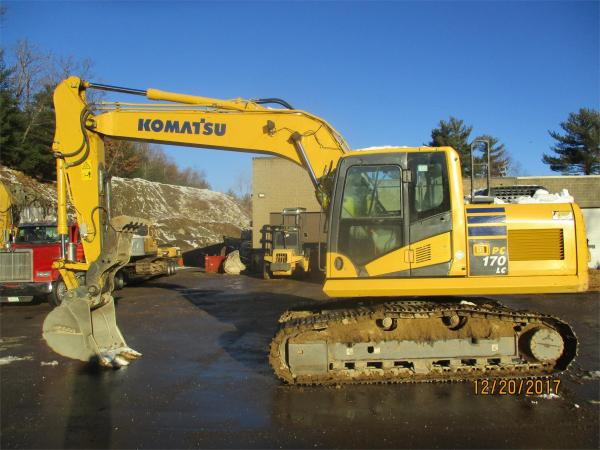 Detail photo of 2015 Komatsu PC170LC-10 from Construction Equipment Guide