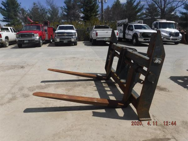 Detail photo of  JRB 108 IN. WIDE FORKS from Construction Equipment Guide
