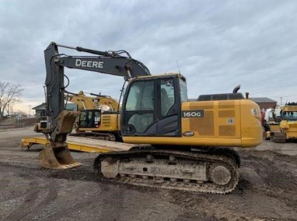 Detail photo of 2015 John Deere 160G LC from Construction Equipment Guide