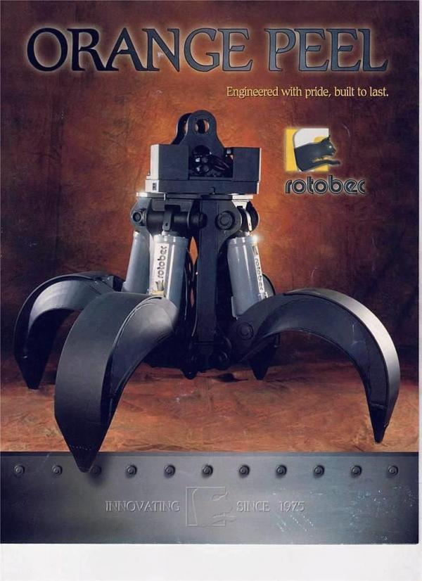 Detail photo of  Rotobec OP4-075 from Construction Equipment Guide
