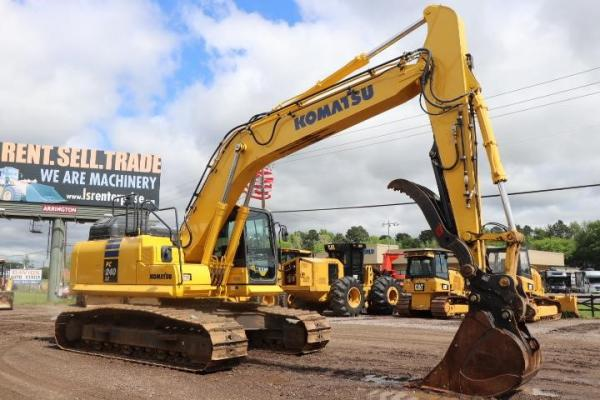 Detail photo of 2017 Komatsu PC240LC-11 from Construction Equipment Guide