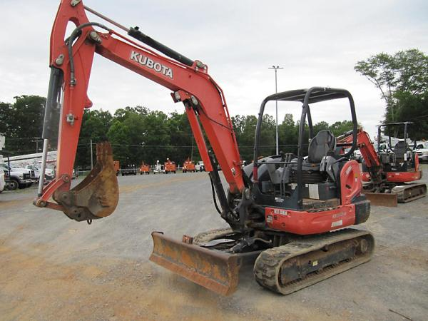 Detail photo of 2013 Kubota KX040-4 from Construction Equipment Guide