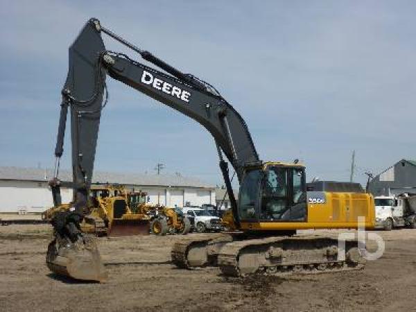 Detail photo of 2014 John Deere 350GLC from Construction Equipment Guide