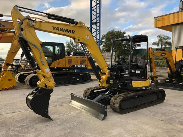 Detail photo of 2018 Yanmar VIO55 from Construction Equipment Guide