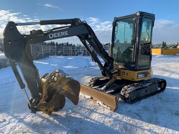 Detail photo of 2016 John Deere 35G from Construction Equipment Guide