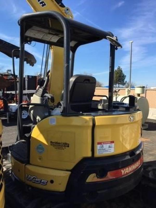 Detail photo of 2016 Yanmar VIO55-6A from Construction Equipment Guide