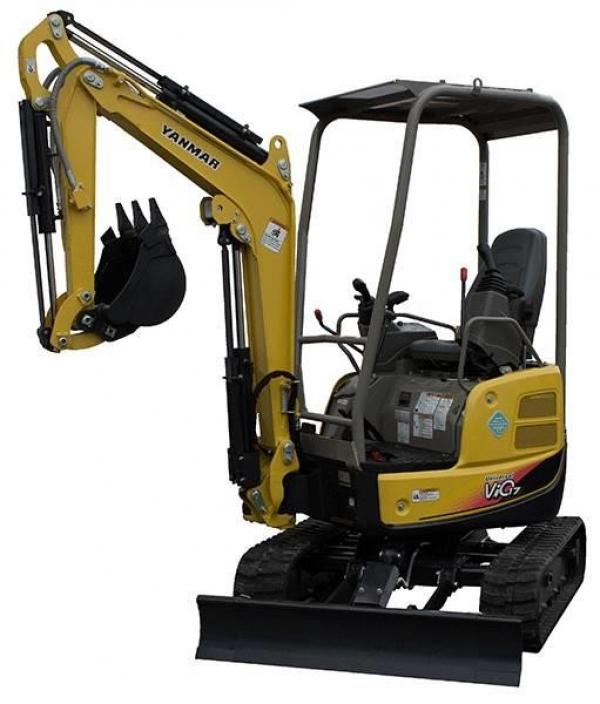 Detail photo of 2019 Yanmar VIO17 from Construction Equipment Guide