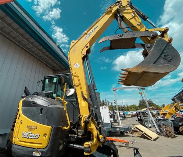 Detail photo of 2016 Yanmar VIO80-1A from Construction Equipment Guide