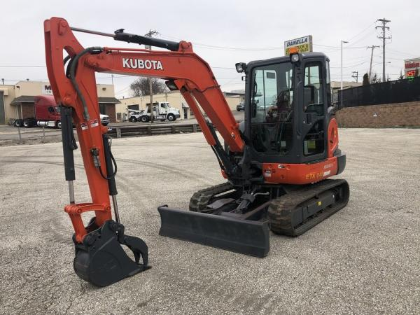 Detail photo of 2014 Kubota KX040-4 from Construction Equipment Guide