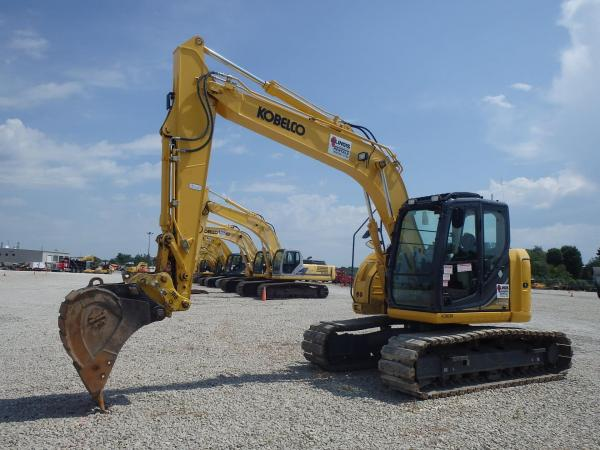 Detail photo of 2015 Kobelco SK140SR from Construction Equipment Guide