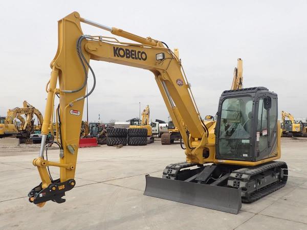 Detail photo of 2018 Kobelco SK85CS-3E from Construction Equipment Guide
