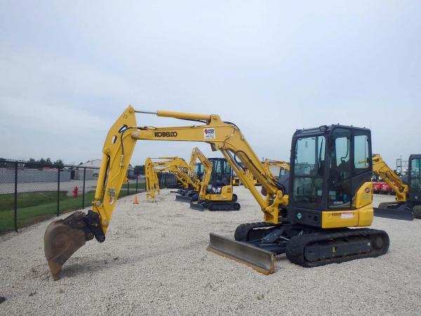 Detail photo of 2018 Kobelco SK55SRX-6E from Construction Equipment Guide