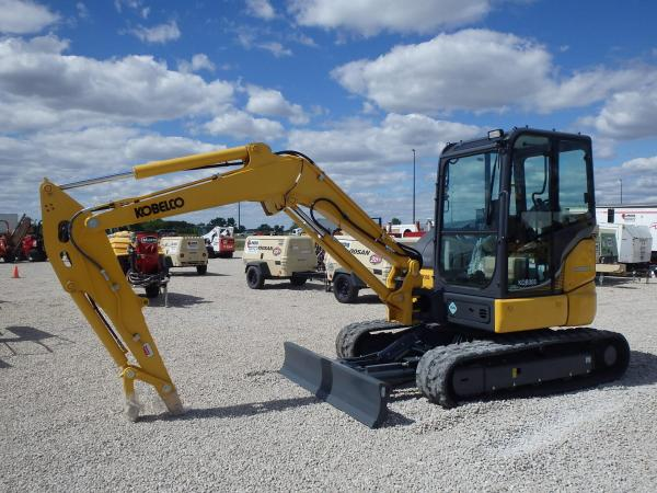 Detail photo of 2016 Kobelco SK55SRX-6E from Construction Equipment Guide